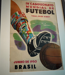 Original World Cup in Brazil Poster